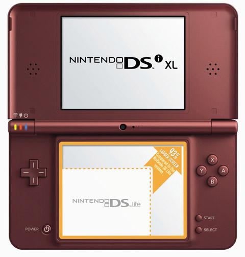 nintendo-dsixl Nintendo DSi XL goes big in North America on March 28