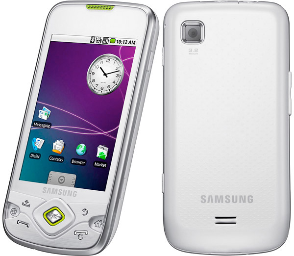 samsung-galaxy-spica.silver  Samsung Galaxy Spica powered by Android, heading to Rogers