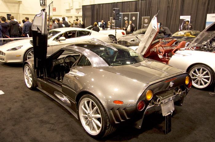 spykerc8-01 Calgary 2010 Auto Show to wrap up, Spykers and iMiEVs oh my