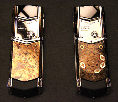 verut.450 $200,000+ Vertu signature phones represent the 'four seasons'