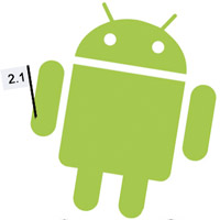 android2.1  Android 2.1 update available for Telus' Motorola Milestone