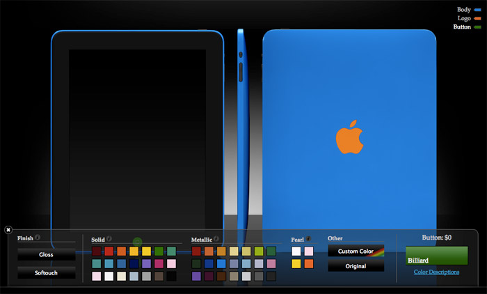colorware-ipad  Apple iPad gets added to the ColorWare collection