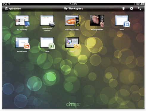 ipad-app-citrix 43 iPad apps that will rock your accelerometers off