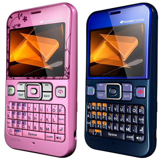 kyocera-juno Sanyo Juno QWERTY phone gets colorful on Boost Mobile