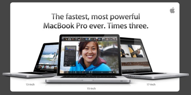 macbooks Apple MacBook Pro now available with Core i5, Core i7