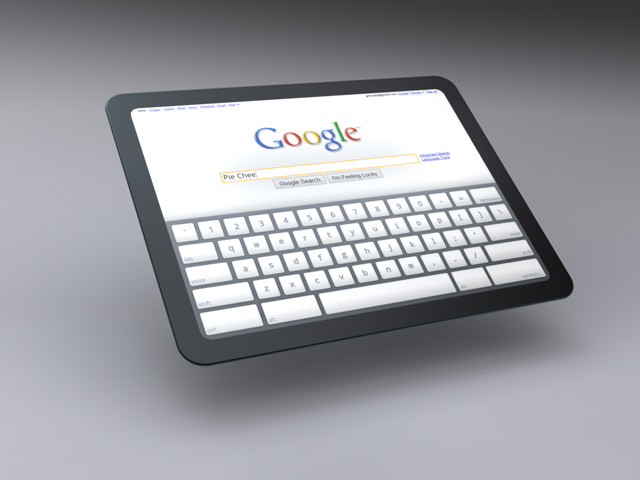 tablet2.100 Google to combat iPad with Android tablet of its own