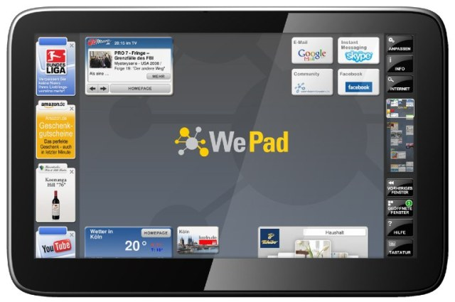 wepad_1 WePad Android tablet gets launch date, specs, price and Flash