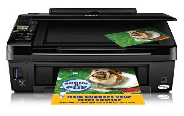 epson-420 Epson's new Stylus NX420 wireless printer is only $99