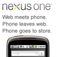 nexusone-web  Google stops selling Nexus One through web store