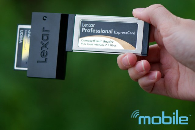 lexar-expresscard Review: Lexar 32GB 600X CF card offers tons of speed and storage for pros