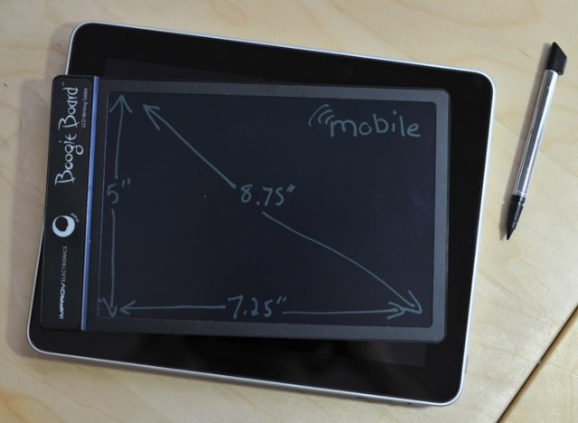 boooogieboard-ipad Boogie Board LCD tablet review