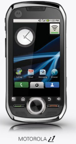 motorola-i1-sprint Sprint push-to-talk Motorola i1 Android phone coming Sunday