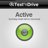 textndrive-200 Text'nDrive iPhone and Blackberry voice-to-txt app keeps your hands on the wheel