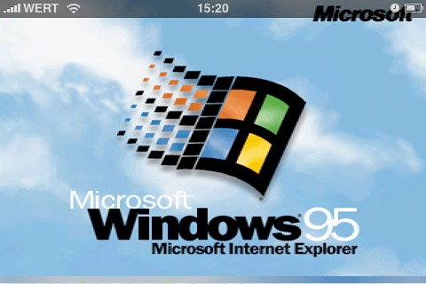 windows-android Windows 95 ported to Google Android devices