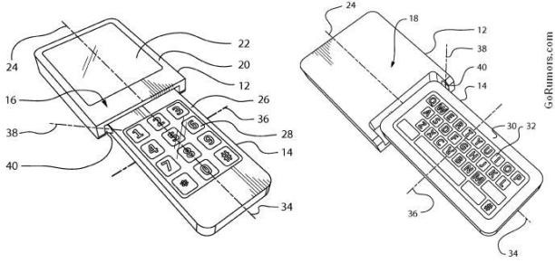bb-rotating-1 Year old patent reveals rotating BlackBerry smartphone