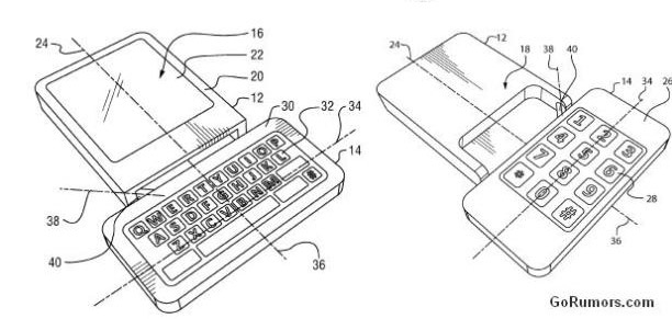 bb-rotating-2 Year old patent reveals rotating BlackBerry smartphone