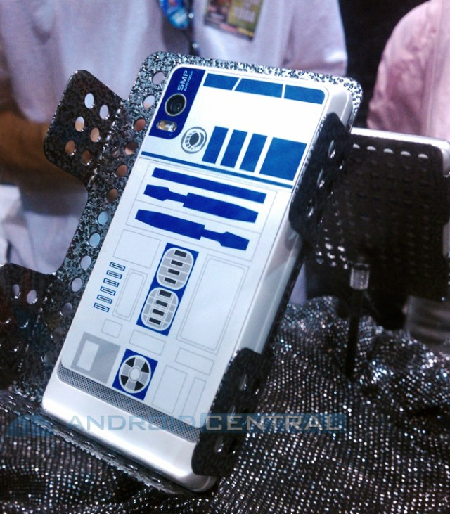 droid-2-r2-d2 Say hello to the Motorola DROID 2 R2D2 edition, no sign of Cee Threepio just yet