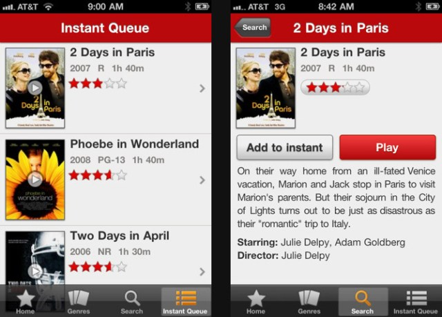 netflix-iphone Netflix movie streaming iPhone app released