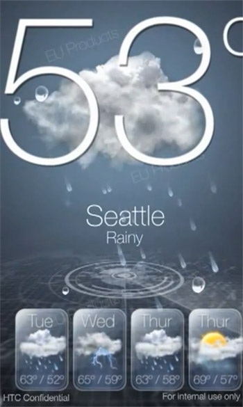 WINPHON7-weather  First look: HTC custom UI video for Windows Phone 7