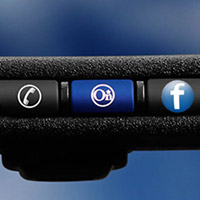 facebook-onstar GM set to offer handsfree Facebook via OnStar