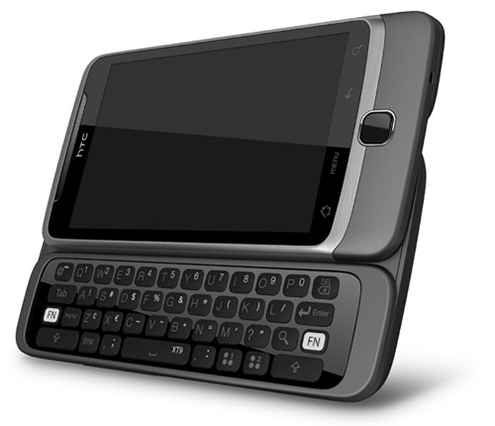 htc-desire-z HTC Desire Z is a 720p QWERTY slider with Android 2.2