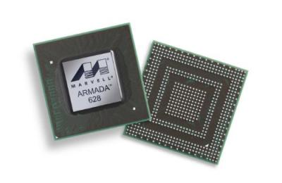 marvel-armada Marvell's 1.5GHz tri-core processor for tablets and smartphones