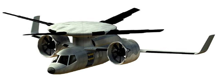 copterjet-concept DARPA and Boeing unveil DiscRoter copterjet concept
