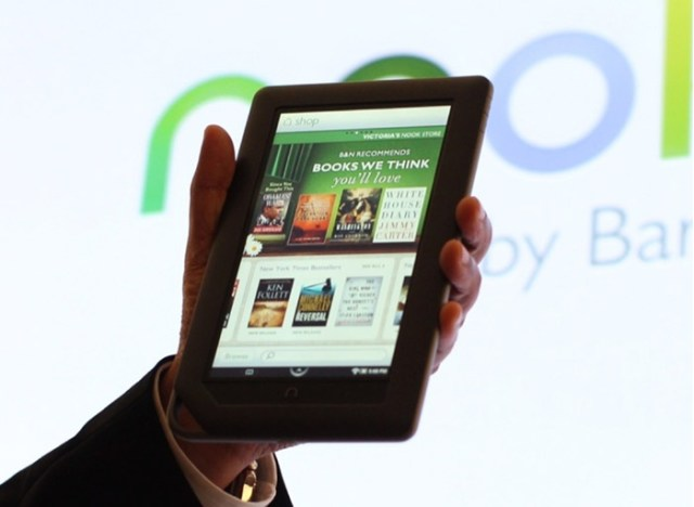 nook-color-giz NOOK Color: B&N's WiFi tablet with Apps, Mags and Books to cost $250