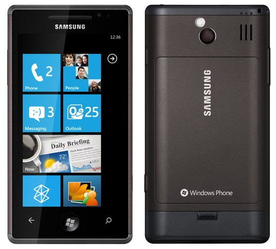 samsung-omnia-7 Samsung Focus (Omnia 7) running Windows Phone 7 destined for AT&T November 8th