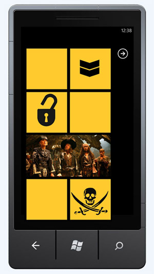 chevron-crack-wp7 Homebrewers rejoice! Windows Phone 7 unlock now available