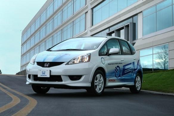 fit-ev-1 Honda announces Fit and Accord pilot program for California