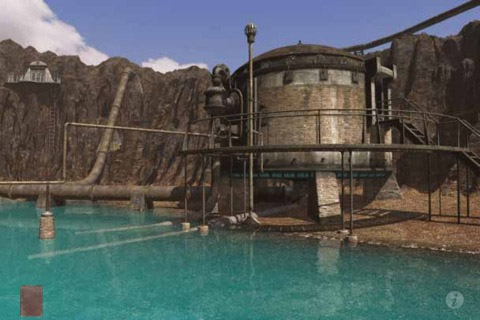 myst-scr2 Riven, the Myst app sequel weighs in at a whopping 1GB