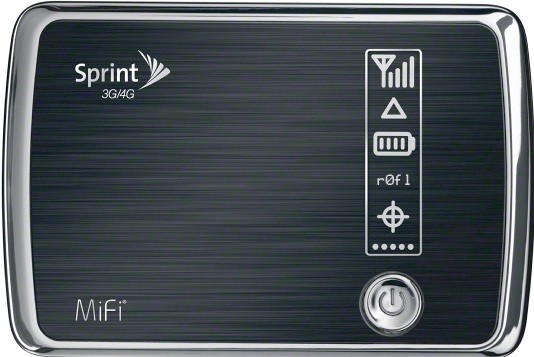sprint-4g-mifi  First look at Sprint 3G/4G MiFi 4082 from Novatel