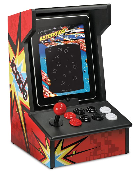 icade-1 iCade for iPad is the oldschool arcade cabinet we've always wanted