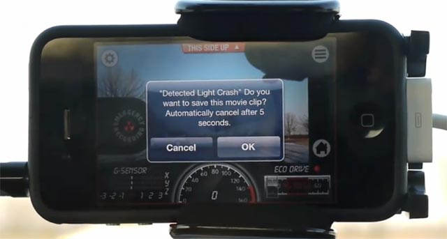icar Video: iCar Black Box app retroactively records your fender-bender