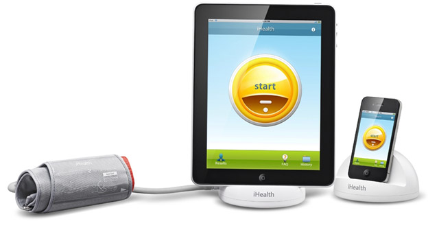 ihealth-ipad iHealth's blood pressure system for iOS brings healthcare home