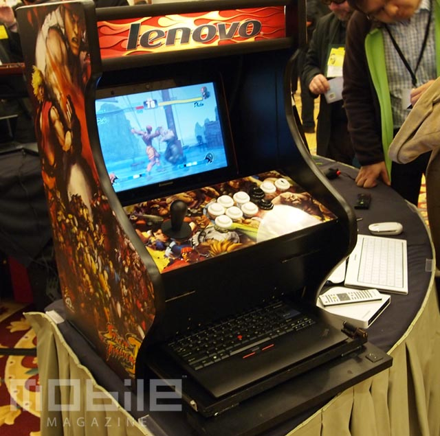 lenovo-arcade-dock-5 Hands On: Lenovo's laptop arcade dock money cant buy