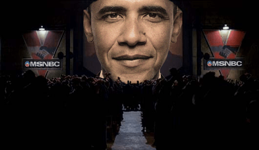 obama-orwell Obama wants internet IDs for all Americans