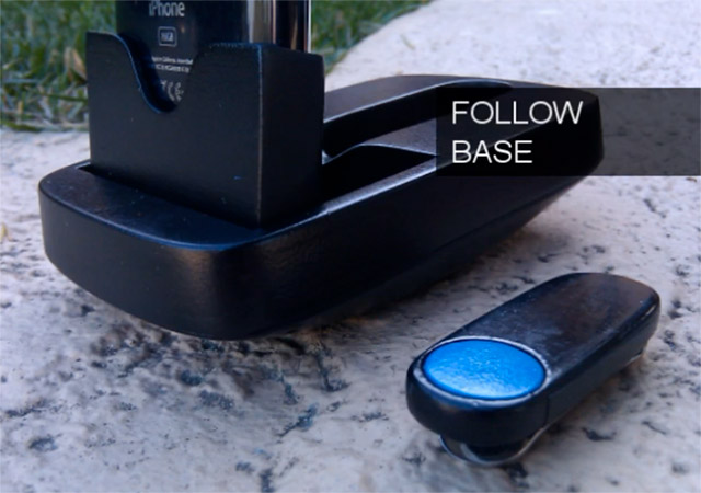 satarri Satarii motion iPhone dock tracks you, puts an end to the shaky video