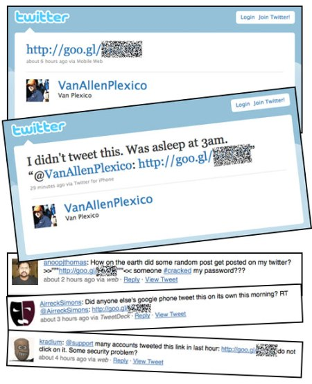 twitter-googl Twitter's got worms