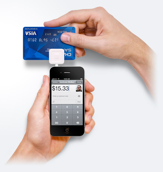 square-up-visa Global Mobile Transactions To Reach $1 Trillion by 2014