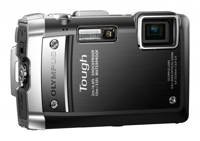 TG-810_Black__Leftside_XL-640x452 Olympus TOUGH TG-810 Camera Withstands 100kg of Crushing Force