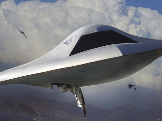 X-47B-bomber2-640x480 Northrop Grumman En Route to Unmanned Fighter Jets, Aerial Refuelling