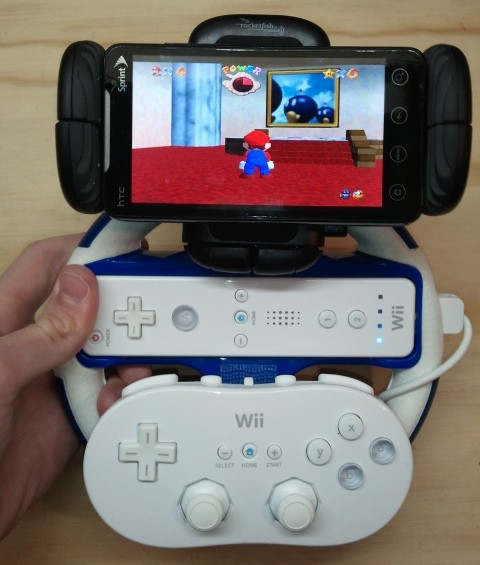evotainment-thing  HTC EVO WiiMote Gaming Mod Is A WTF