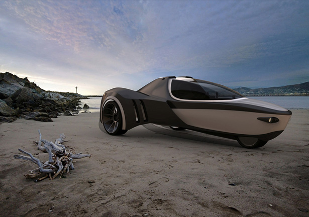 manta-amphibious-vehicle1 The Manta Electric Amphibious Concept Vehicle