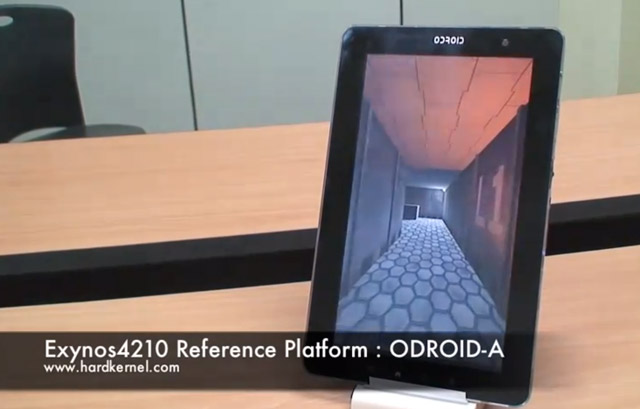 odroid-dev-tablet  Hard Kernel ODROID-A Is The Android Reference Platform with Samsung Exynos 4210 CPU