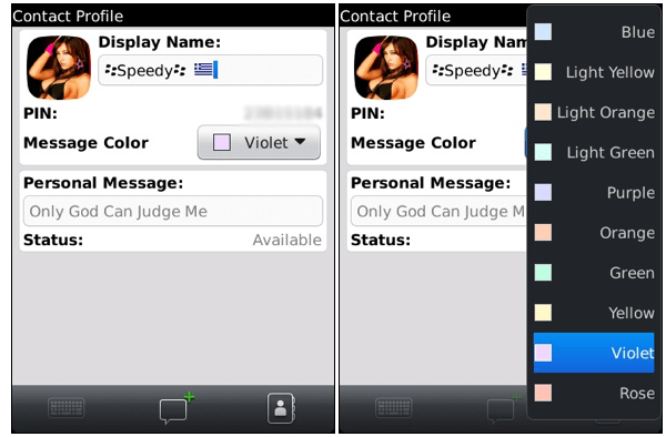 leaked-bbm-60 Leaked: BlackBerry Messenger 6.0 Features Color-Coded Contacts