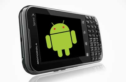 android-sprint Motorola XPRT Smartphone is the Android Blackberry