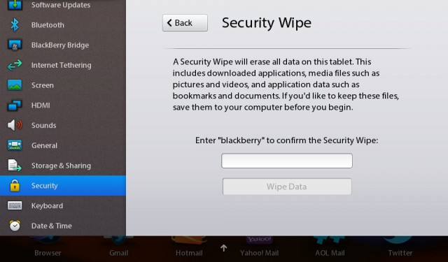 playbook-wipe-640x375 BlackBerry PlayBook Review