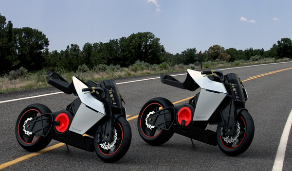 shavit_01 E-bike concept transforms to racing superbike